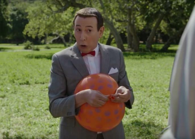 Pee Wee Big Holiday Amish balloon