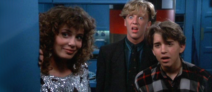weird science we forgot to hook up the doll